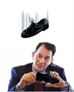 1shoe drop
